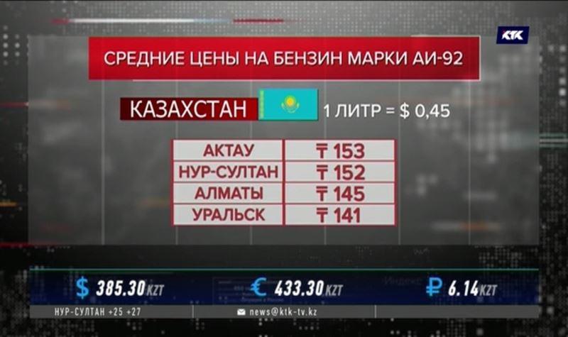 В Казахстане самый дешёвый бензин среди стран ЕАЭС