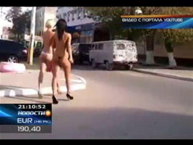 Героями откровенного видео заинтересовались в полиции