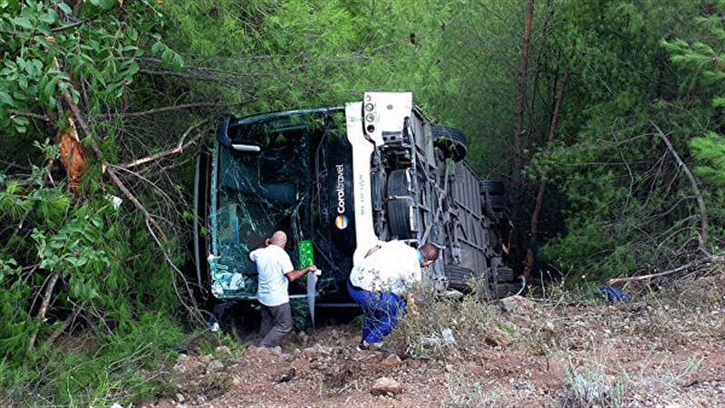 25 человек пострадали в результате ДТП в Турции