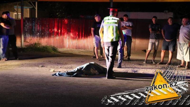 Смертельное столкновение с пожилым пешеходом произошло в Жетыгене