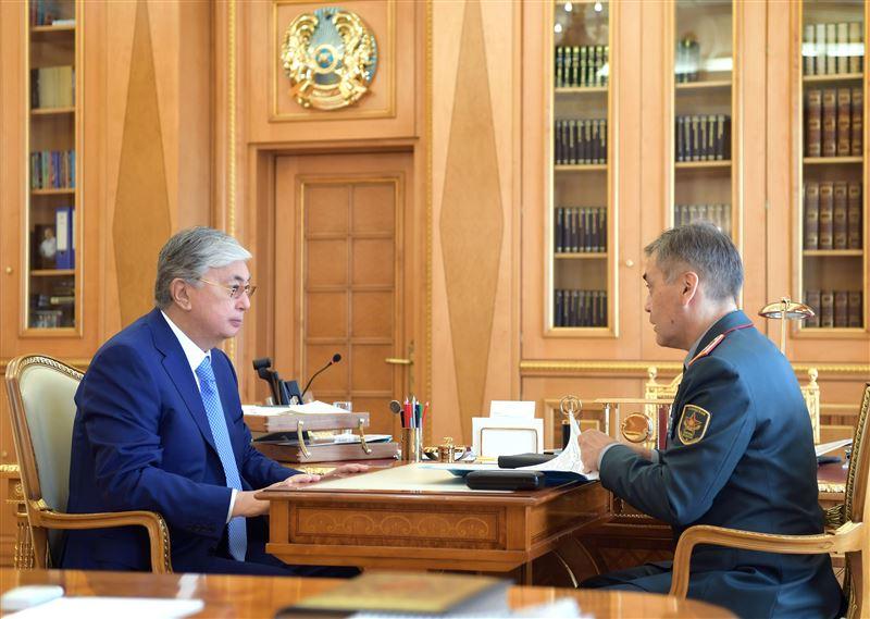 Касым-Жомарт Токаев принял министра обороны