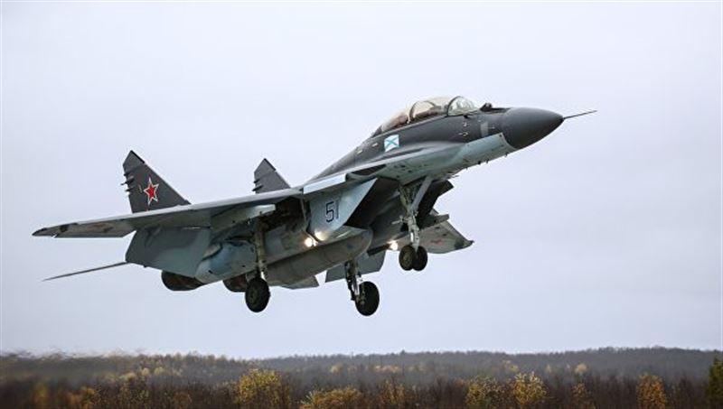 В Каспийское море упал азербайджанский истребитель МиГ-29