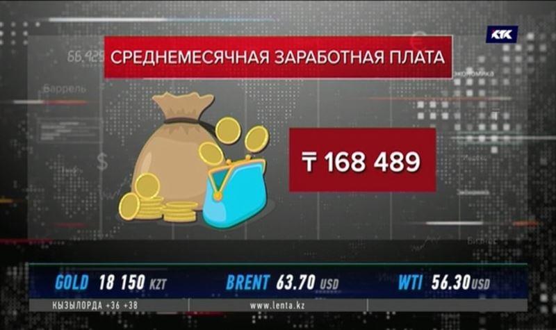 В Минтруда озвучили зарплаты казахстанцев
