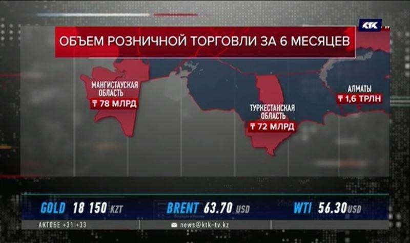 Самые экономные в стране люди живут на юге и западе