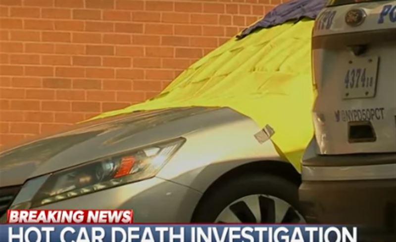 Близнецы, запертые отцом в машине, погибли от жары
