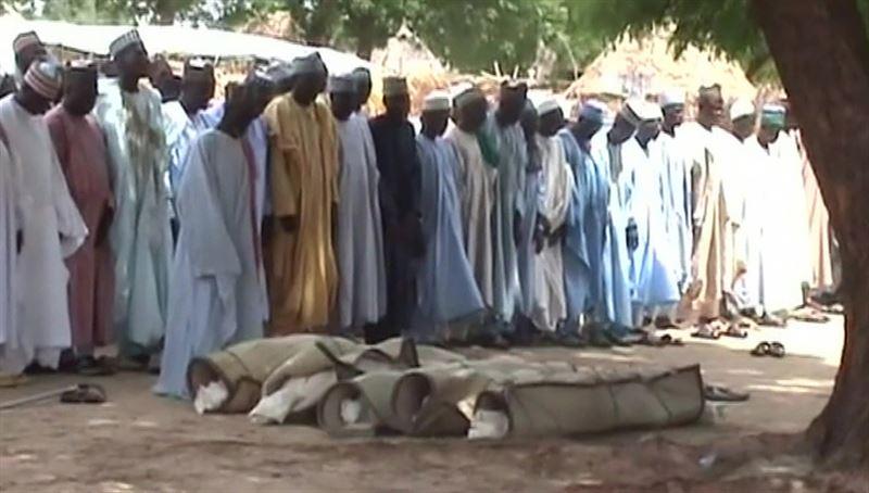 Боевики в Нигерии убили более шести десятков человек