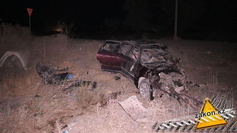 Жертвами ДТП на трассе Касымбек – Каргалы стали трое человек