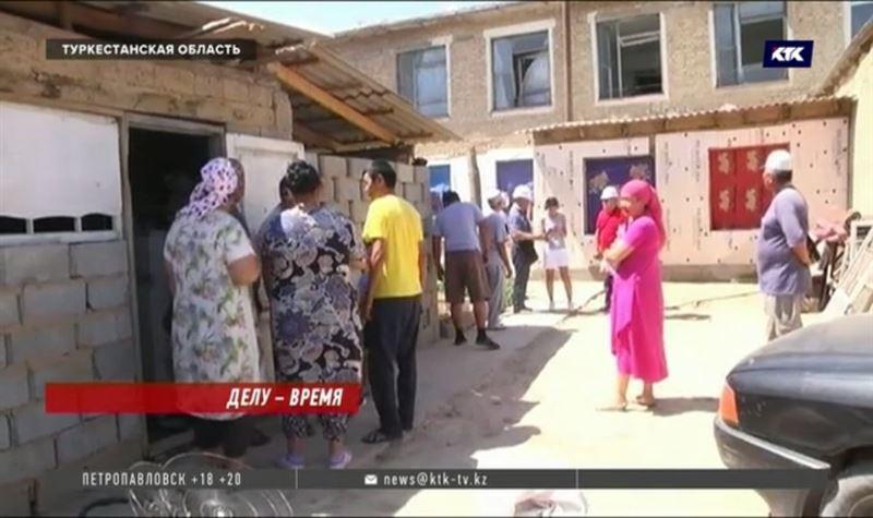 Обещание по сроку завершения восстановительных работ в Арыси не выполнено