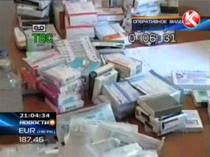 Фальсифицированные или запрещенные лекарства изъяли в ЮКО