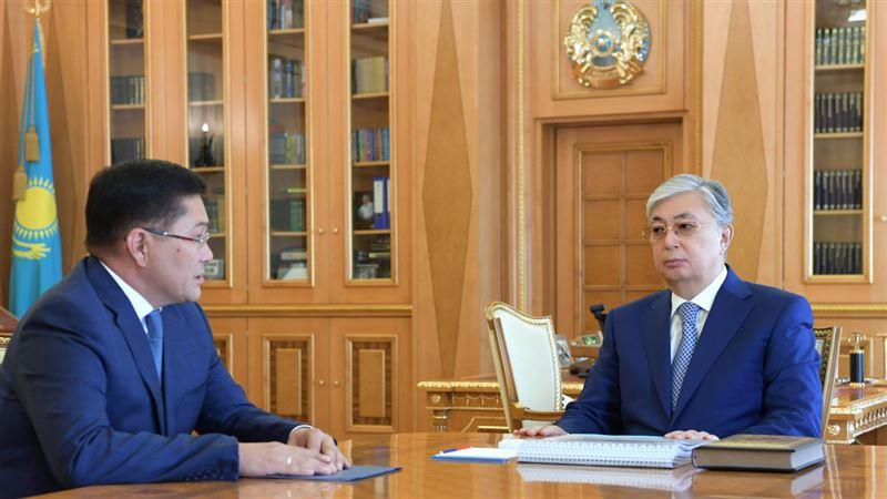 Президент дал ряд поручений новому акиму Шымкента