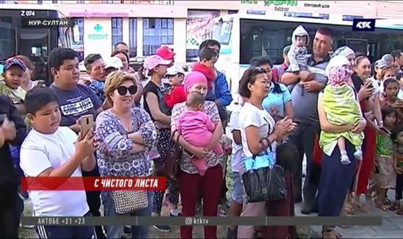 Экибастуз принимает многодетных переселенцев из столицы