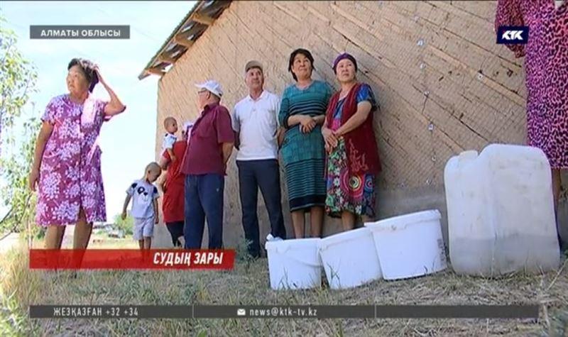 Алматы облысында қарттардың зейнетақысы көбіне ауыз суға жұмсалып жатыр