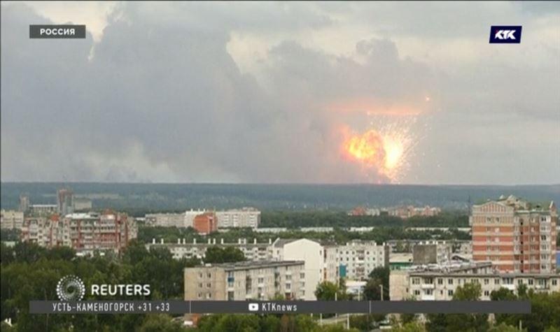 Пожар на военном складе под Красноярском привёл к взрыву боеприпасов
