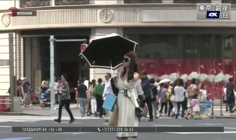 Жители Японии страдают от небывалой жары