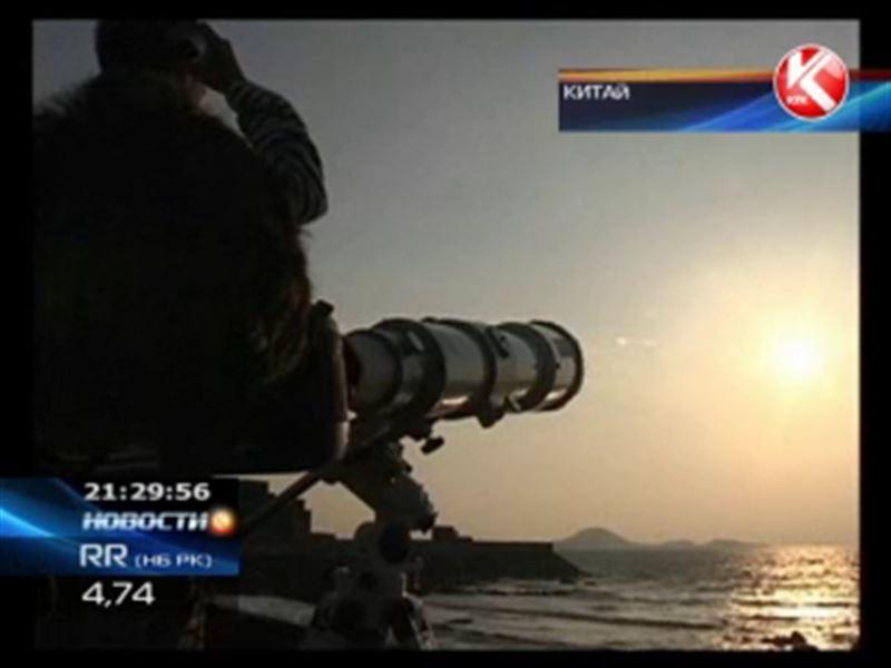 Жители Северного полушария наблюдали солнечное затмение