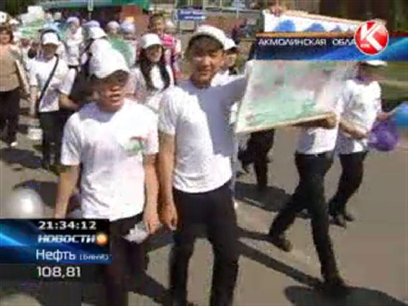 В Акмолинской области прошел Марш парков