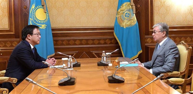 Токаев принял редседателя правления АО «Национальный научный кардиохирургический центр» Юрия Пя