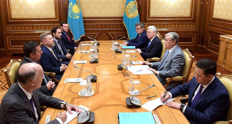 Президент Казахстана принял конгрессменов США