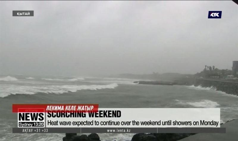 Қытайға сұрапыл тайфун жақындап келеді