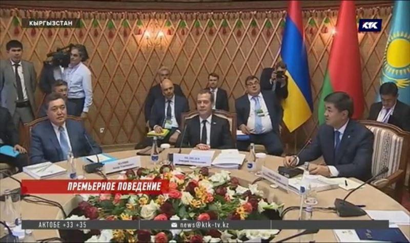 Аскар Мамин принял участие в заседании Евразийского межправительственного совета
