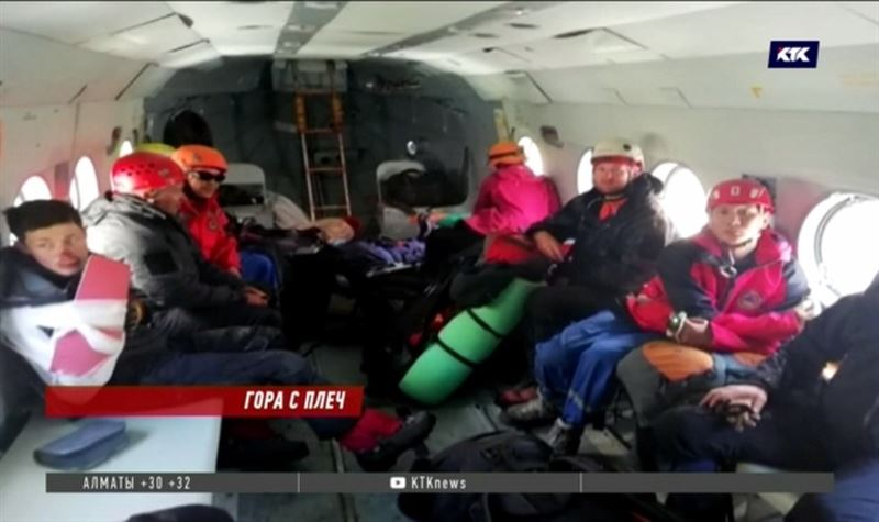 Казахстанские спасатели оказали помощь российским туристам