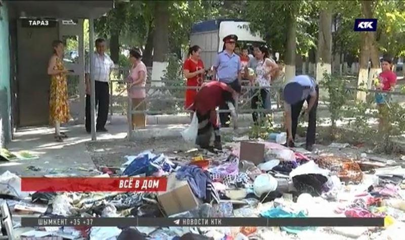 Таразскую собирательницу мусора будут судить за мелкое хулиганство