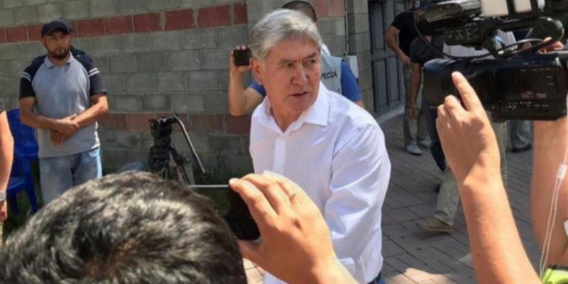 Двое сторонников Атамбаева помещены в СИЗО