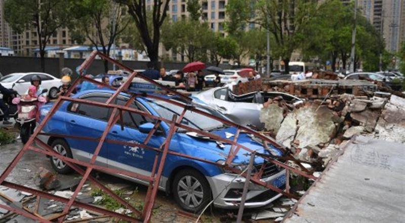 Жертвами супертайфуна в Китае стали 43 человека