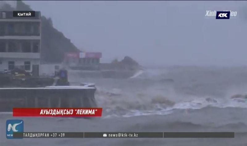 Қытайда тайфуннан ондаған адам қаза тапты
