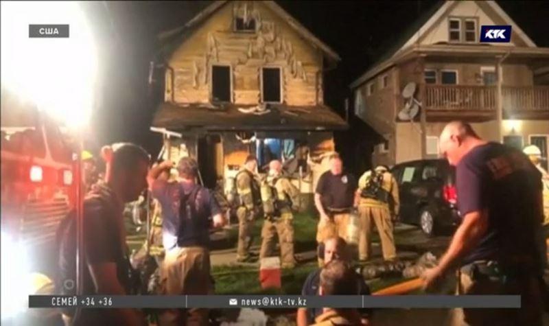 В США во время пожара погибли пятеро детсадовцев