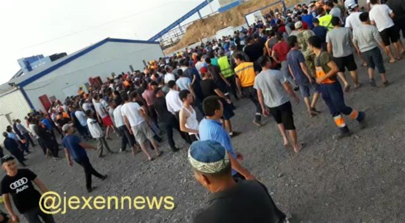 В Карагандинской области местные подрались с иностранными рабочими