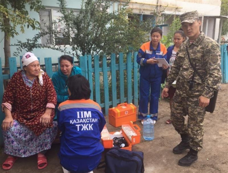 Взрыв прогремел в одном из жилых домов Кызылорды