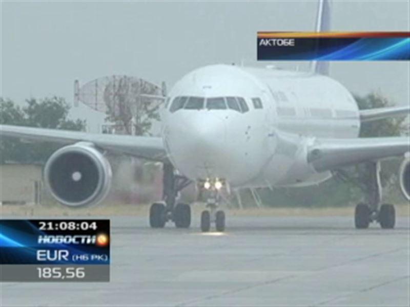Двойное ЧП в актюбинском аэропорту