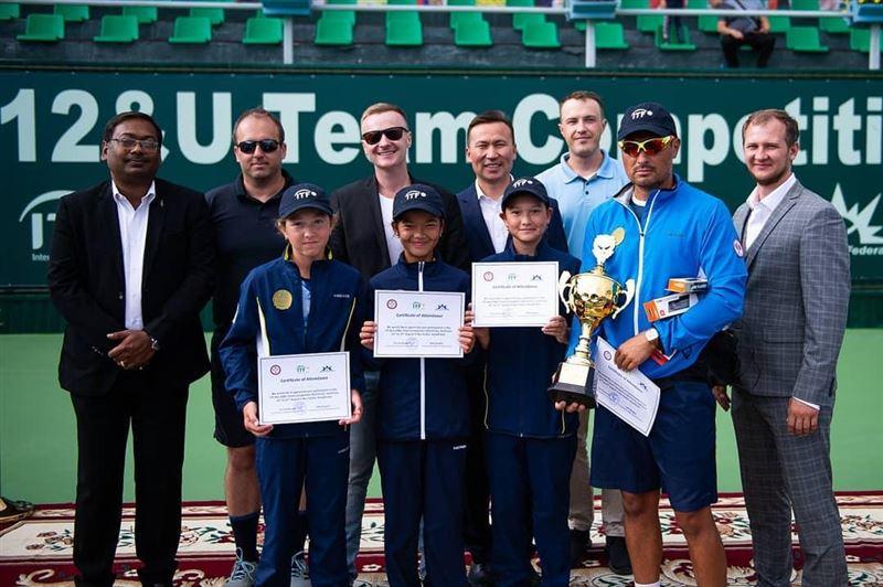 Теннистен Азияның командалық біріншілігінде Қазақстан жеңімпаз атанды