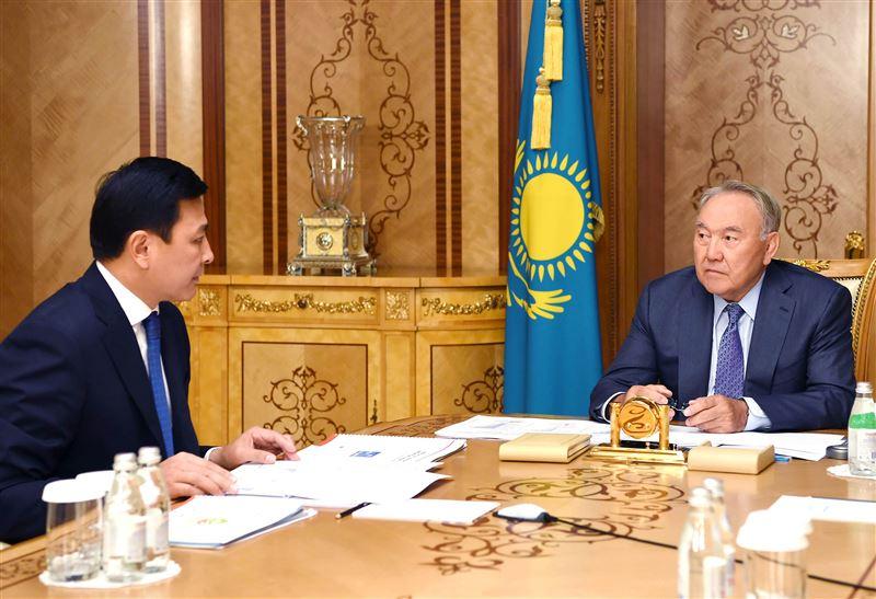Первый Президент Казахстана принял акима Нур-Султана