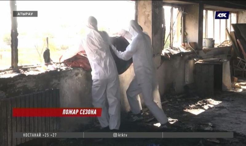 Атыраусцы выразили желание помочь отремонтировать театр после пожара