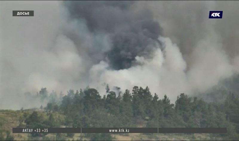 Природные пожары в Казахстане вспыхивали 500 раз за полгода