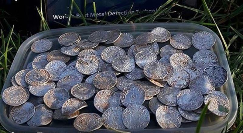 В Великобритании обнаружили клад стоимостью 5 млн фунтов стерлингов