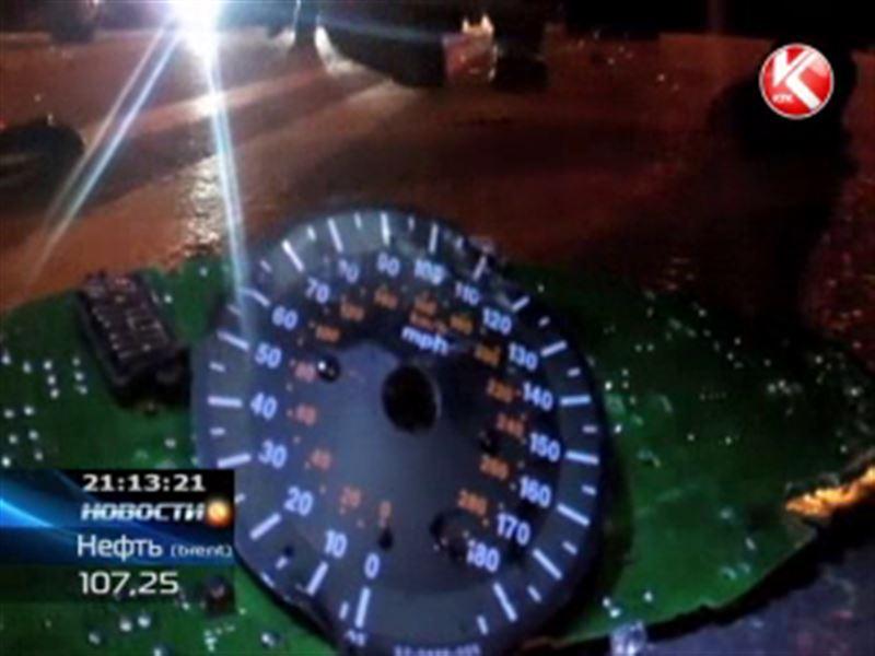 В Шымкенте неизвестный водитель насмерть сбил мотоциклиста