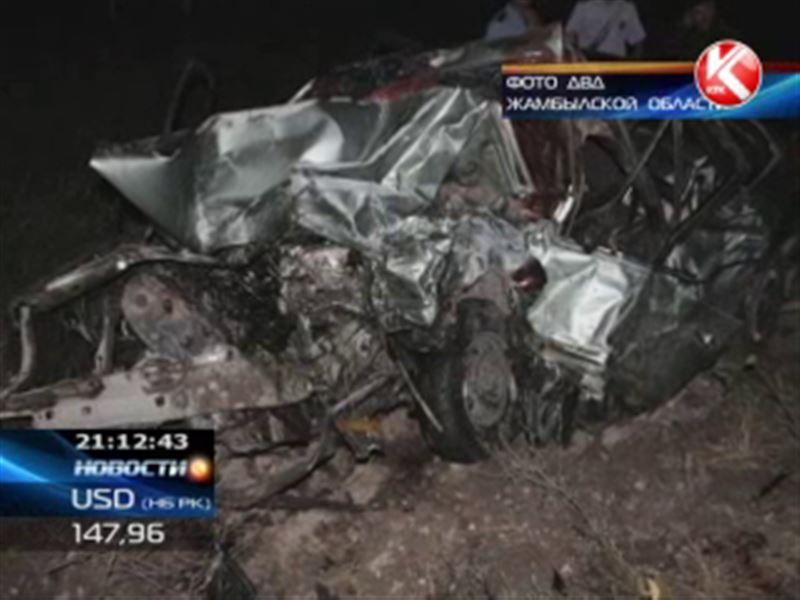 ДТП в Жамбылской области: четверо погибших