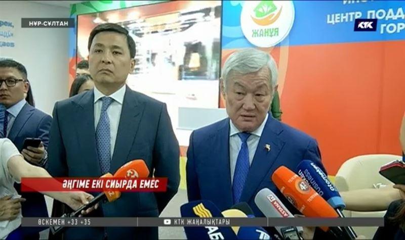 Бердібек Сапарбаев екі сиырмен күн көрудің сырын ашты