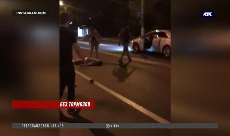 Автолюбитель намеренно сбил трёх человек и скрылся с места преступления