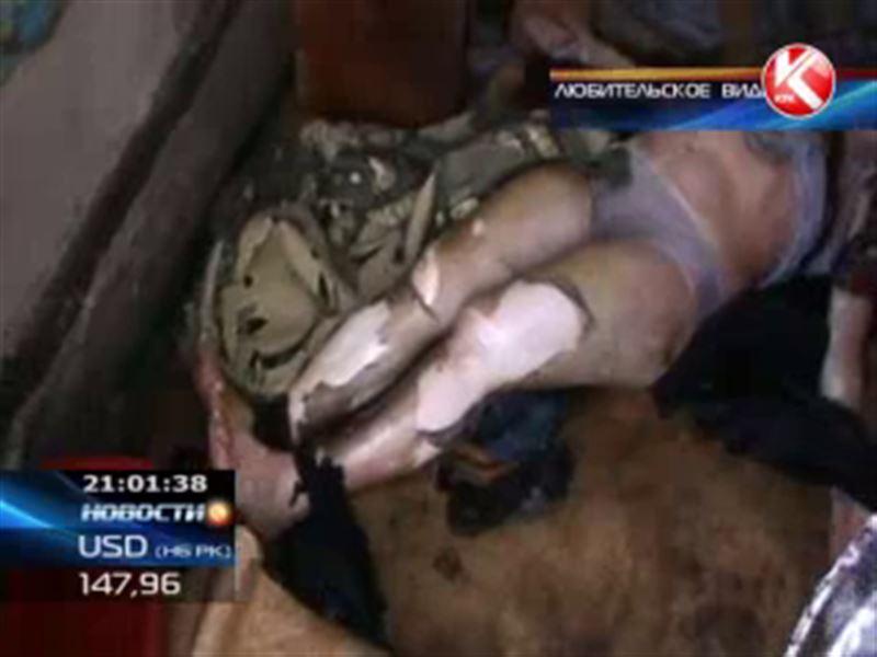 В Алматы умерла женщина, совершившая самосожжение