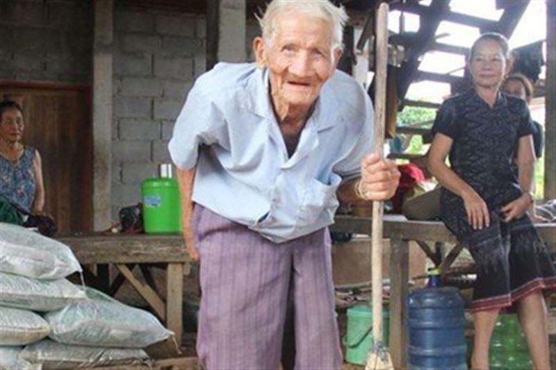 128-летний пенсионер проживает в Таиланде