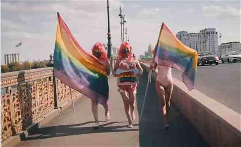 Елордада ЛГБТ белсенділері іш киіммен шеруге шықты