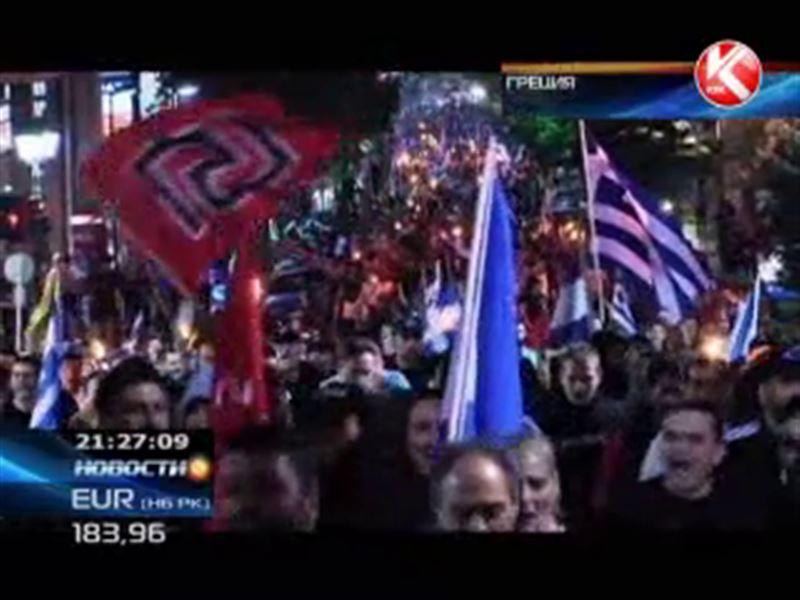 Грецию вновь охватили забастовки