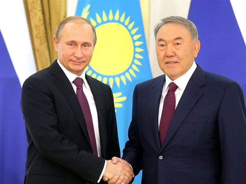 Елбасы Нурсултан Назарбаев переговорил по телефону с президентом России