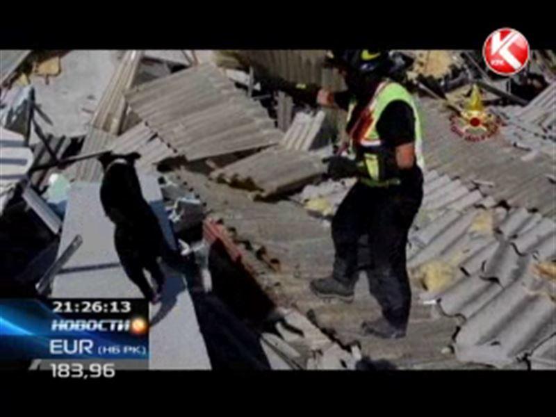 В Италии растет число погибших от землетрясения