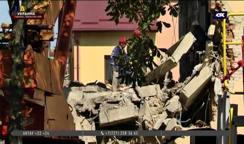 ЧП в Дрогобыче: взрыв и обвал в жилом доме