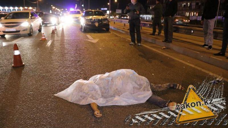 Наезд со смертельным исходом произошел в Алматы